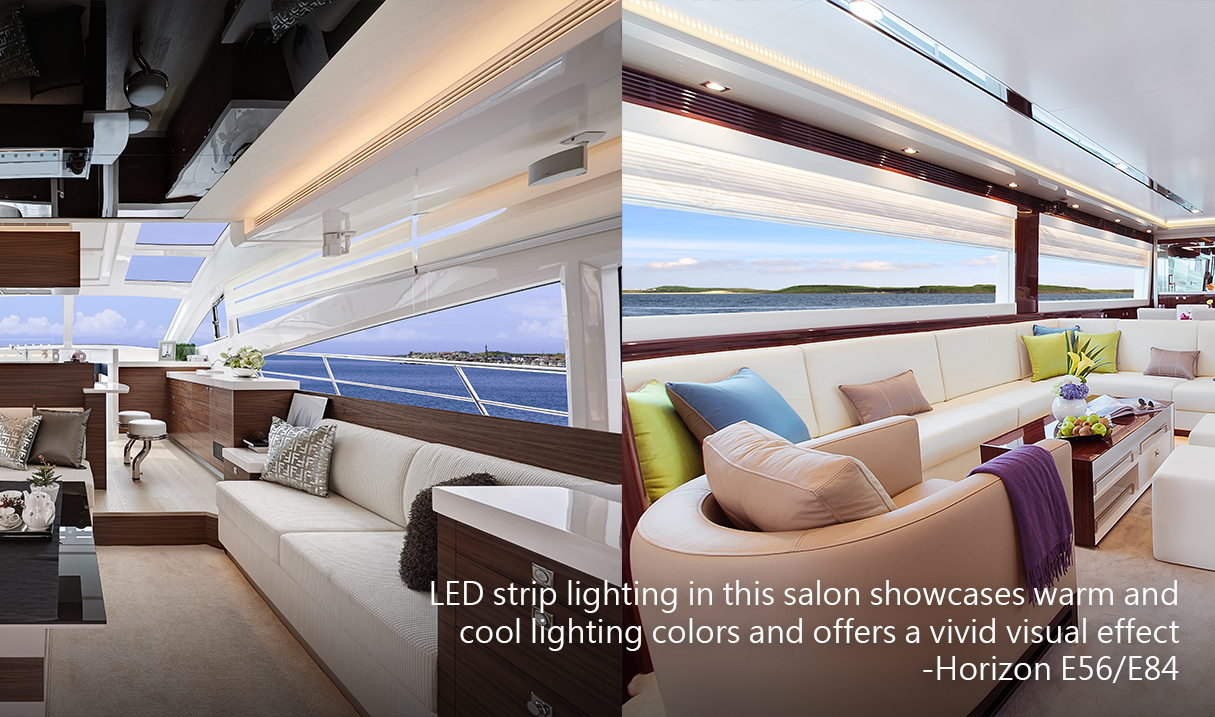 Lighting design and application onboard horizon yachts u part two